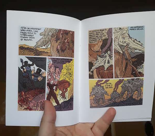 "Image of ""Hale-Bopp""/""The Oxpecker and the Elephant"" Double Book"
