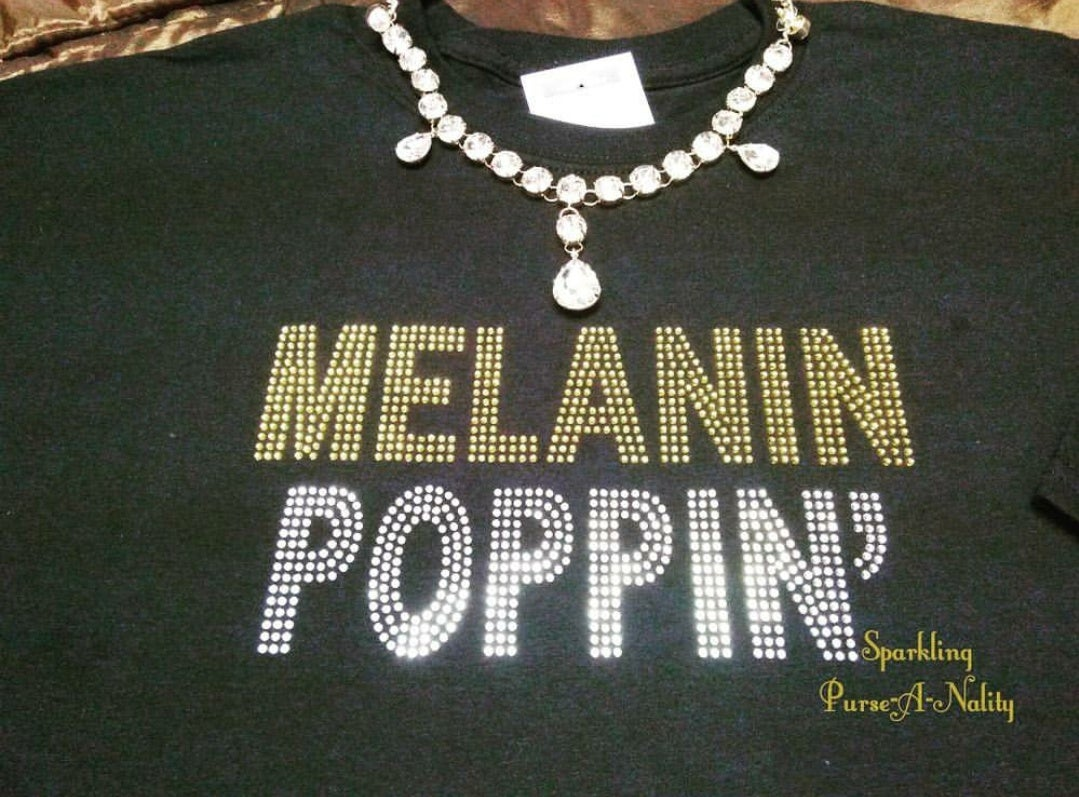 "Image of ""Sparkling"" Melanin Poppin'"