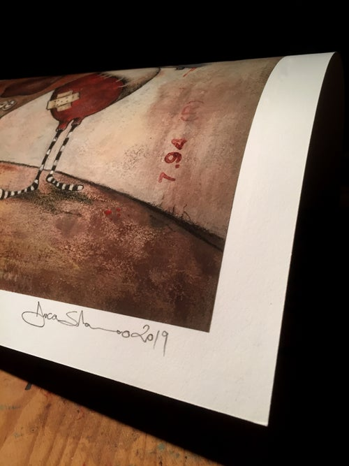 Image of Mirto The Bomber ORIGINAL and ED. GICLÈES