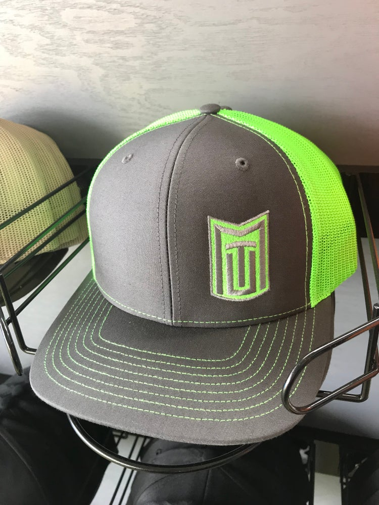 Image of MTU Grey w/ Lime Green