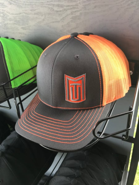 Image of MTU Grey w/ Neon Orange