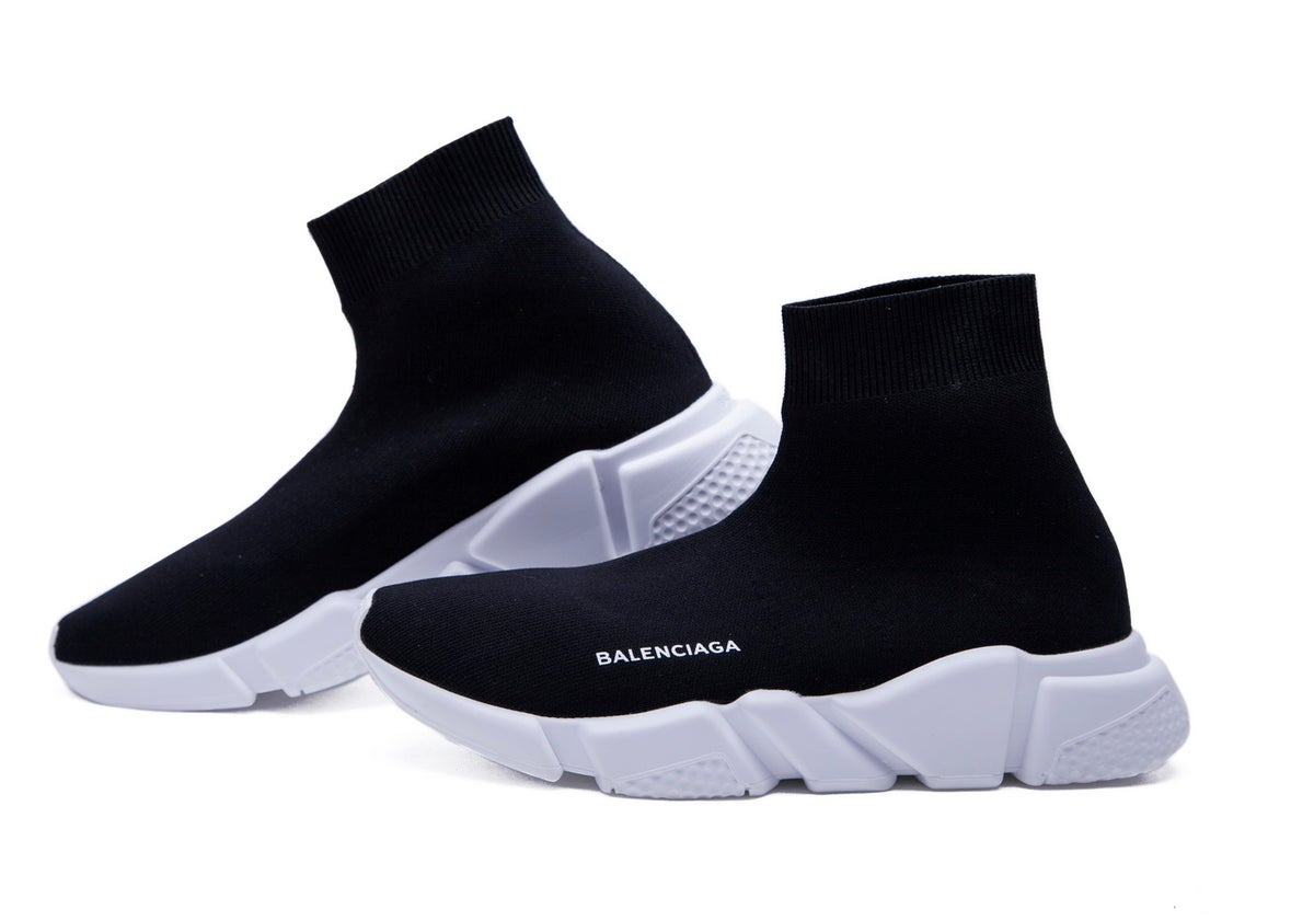 Balenciaga Speed Trainer Mid 'Black'