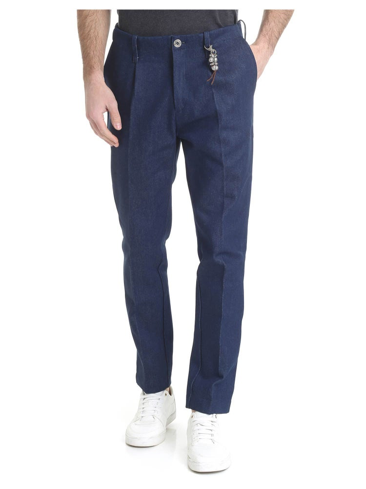 Image of Pantalone in denim blu indaco R92 D-BI01
