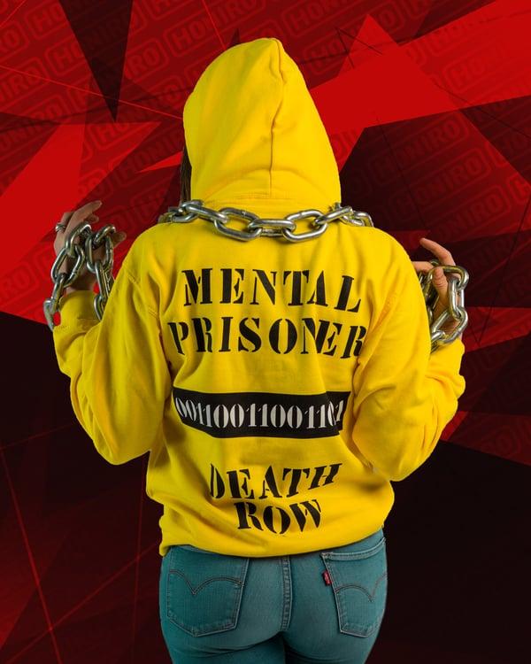 MOSTRO - FELPA MENTAL PRISONER YELLOW - HONIRO STORE