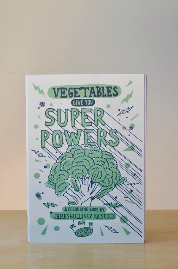 Image of Vegetables Give You Superpowers