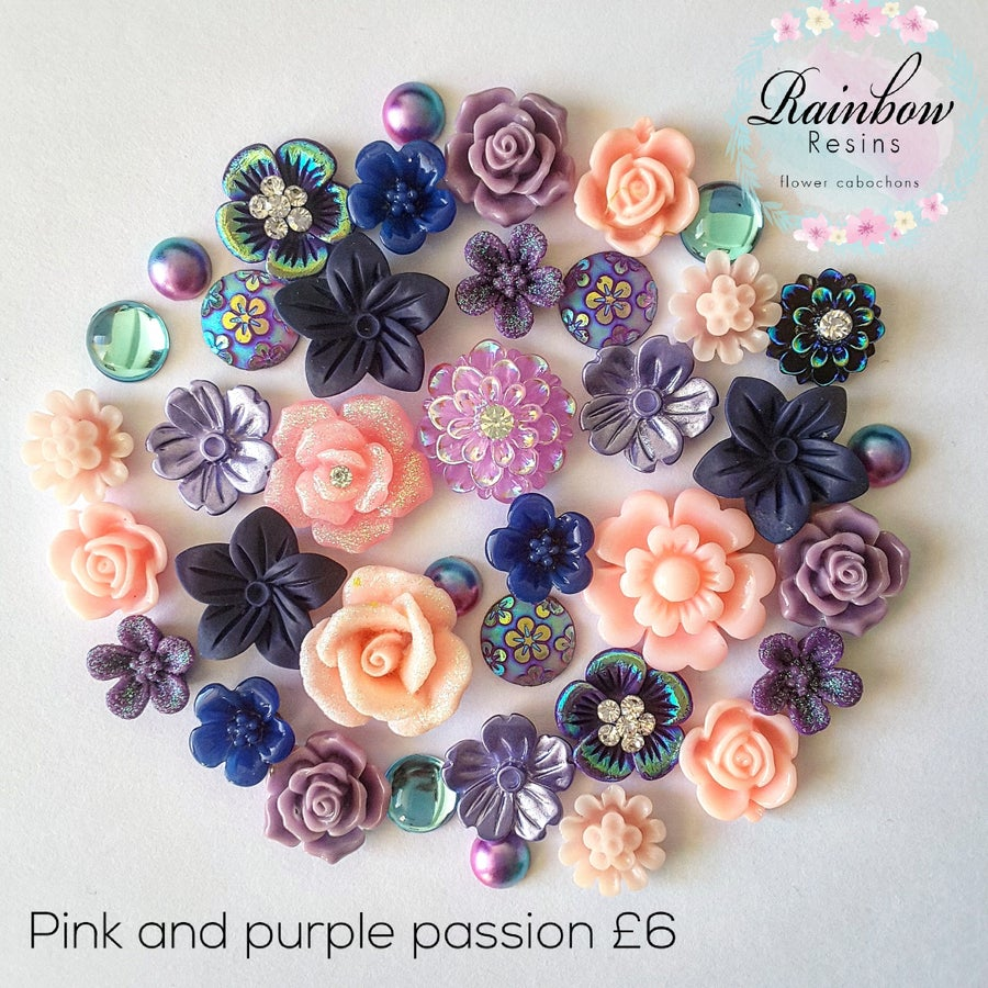 Image of Pink and purple passion