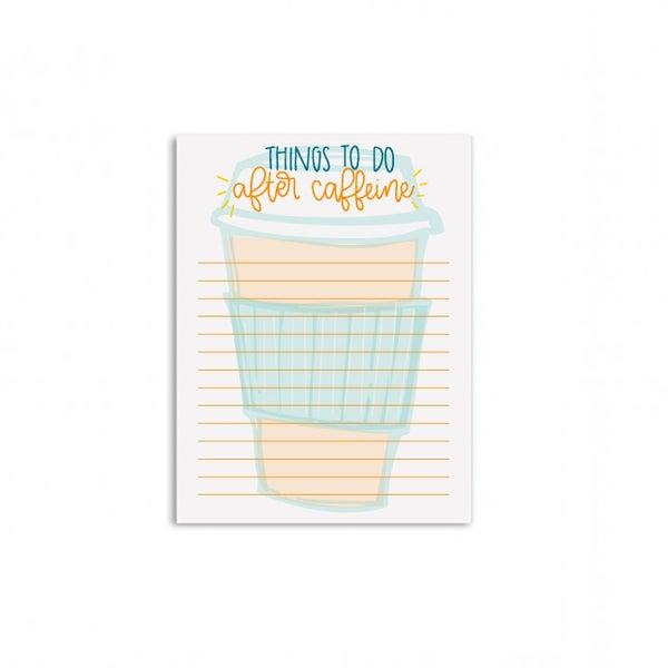 Image of After Caffeine Mini Notepad
