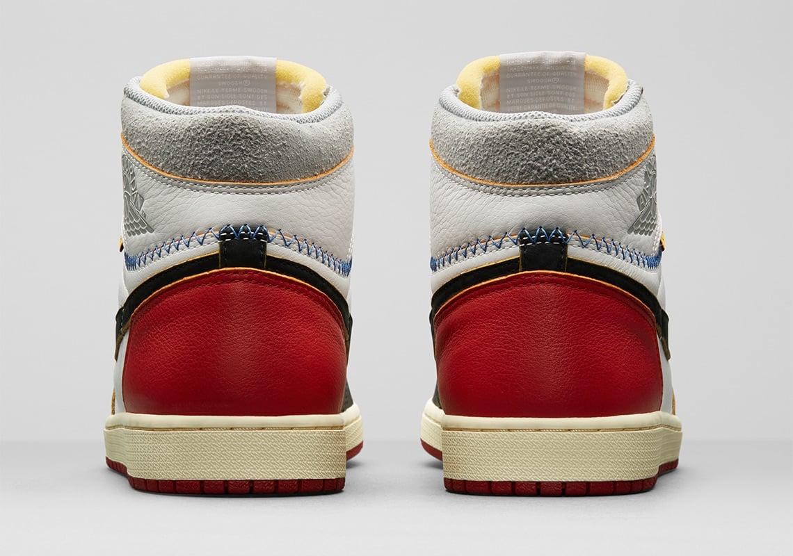 Union x Air Jordan 1 Retro High 'Black Toe