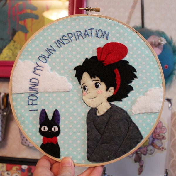 Image of Kiki Embroidery Hoop