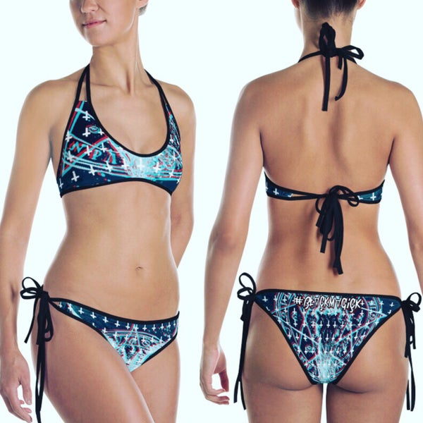"Image of ""Saint Peters"" Collection - ""Grand Grimmore"" Womans Swimwear"