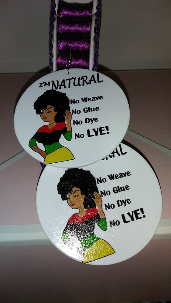 """Image of """"NATURAL HOOPS"""""""