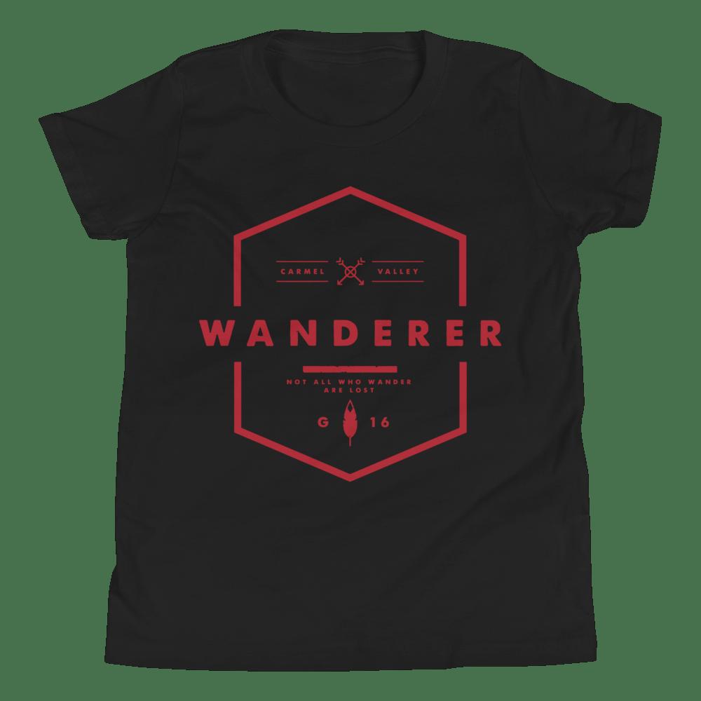 Image of Wanderer Kids Shirt - Black