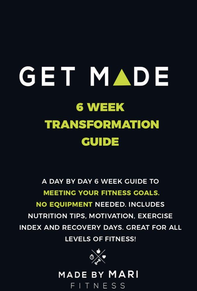 Image of 6 Week Transformation Guide