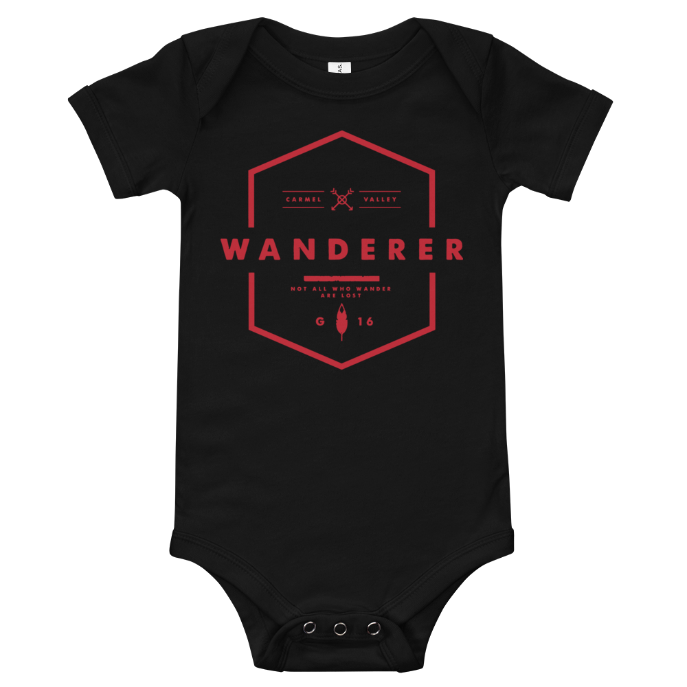 Image of Wanderer Onesie - Black