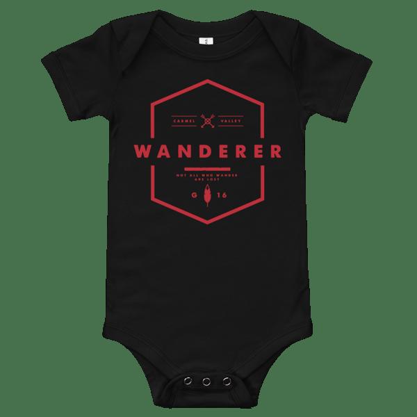 Image of Wanderer Onesie - Black
