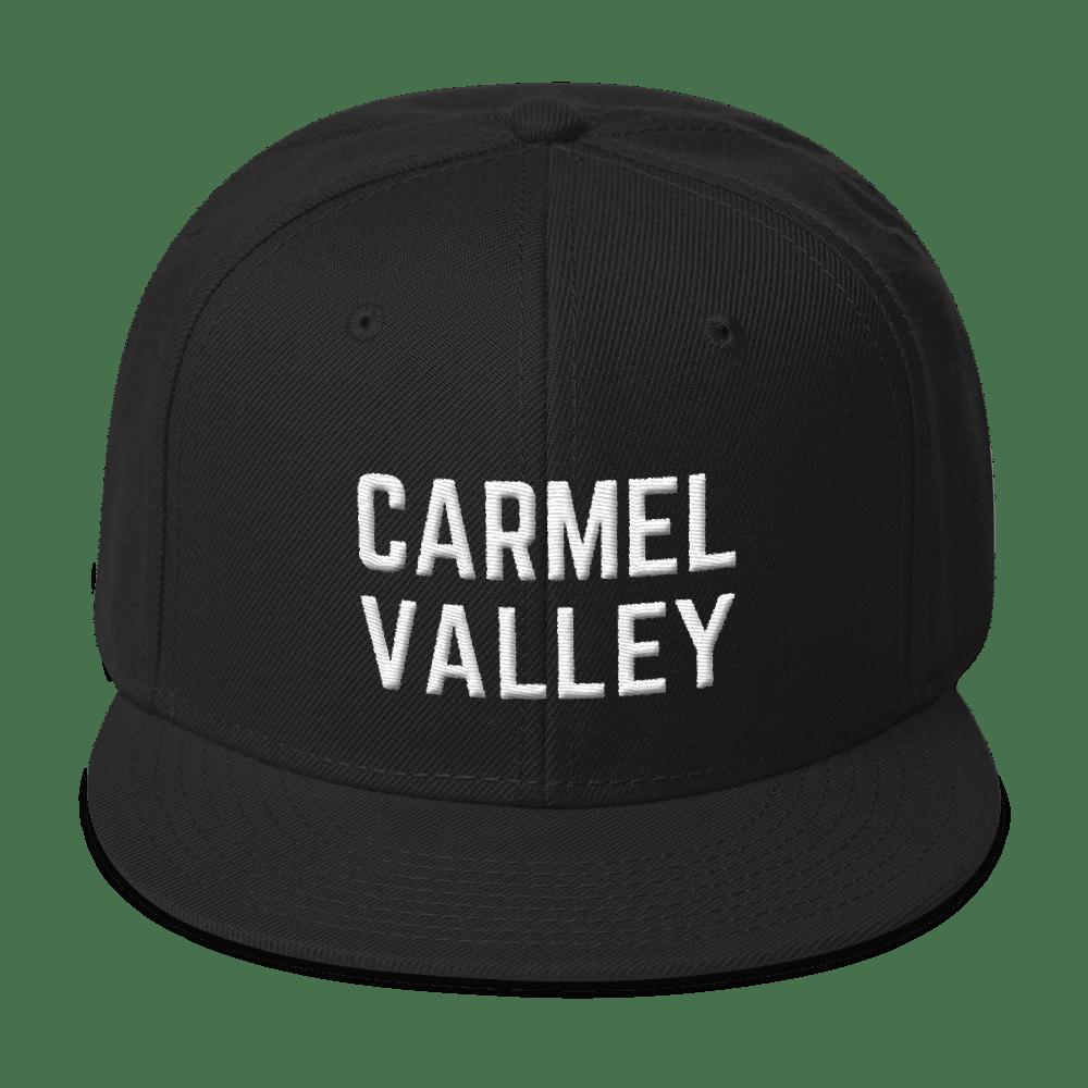 Image of Carmel Valley Snapback Hat - Black
