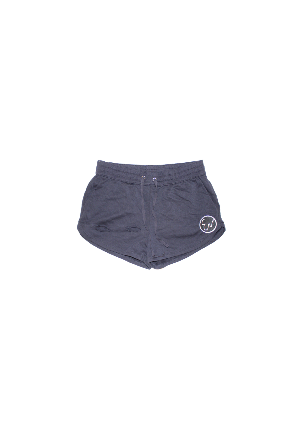 Image of DISTRESSED SHORTS (navy)