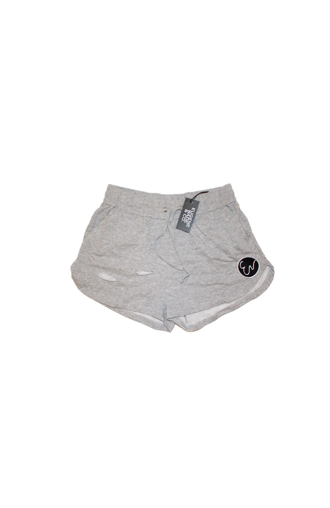 Image of DISTRESSED SHORTS (grey)