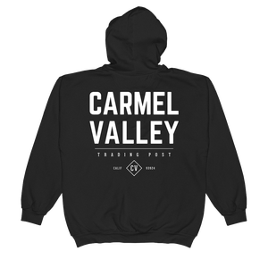 Image of Carmel Valley Zip Hoodie - Black