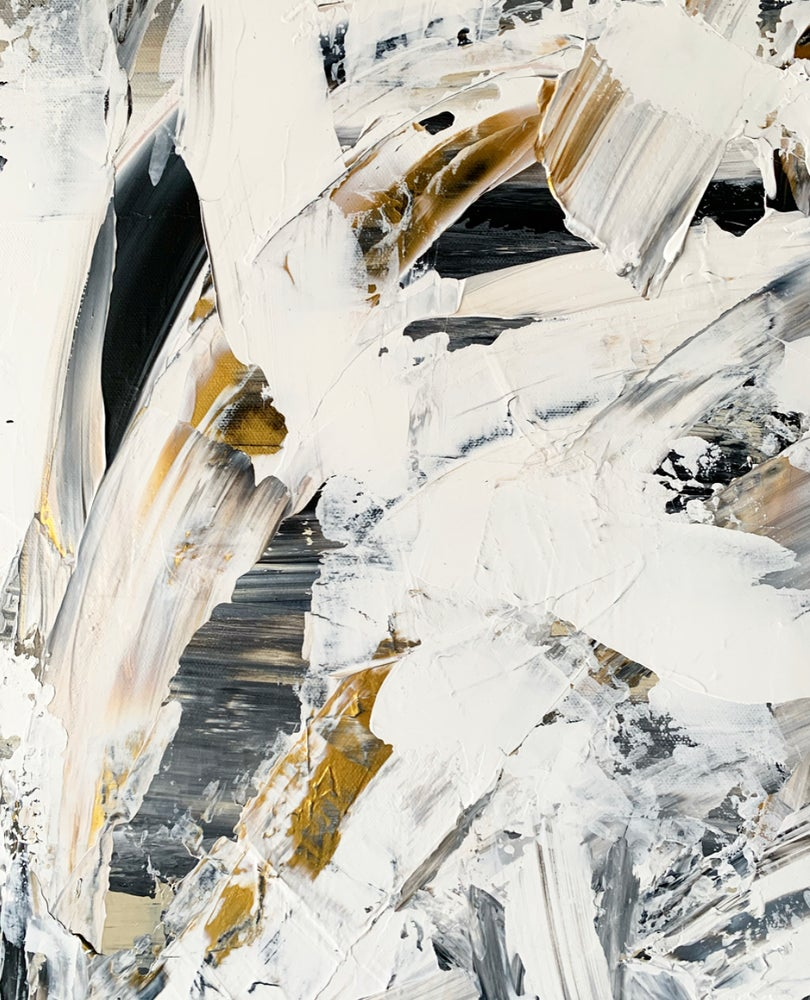 "Image of ""QT"" 30 x 48 Canvas"