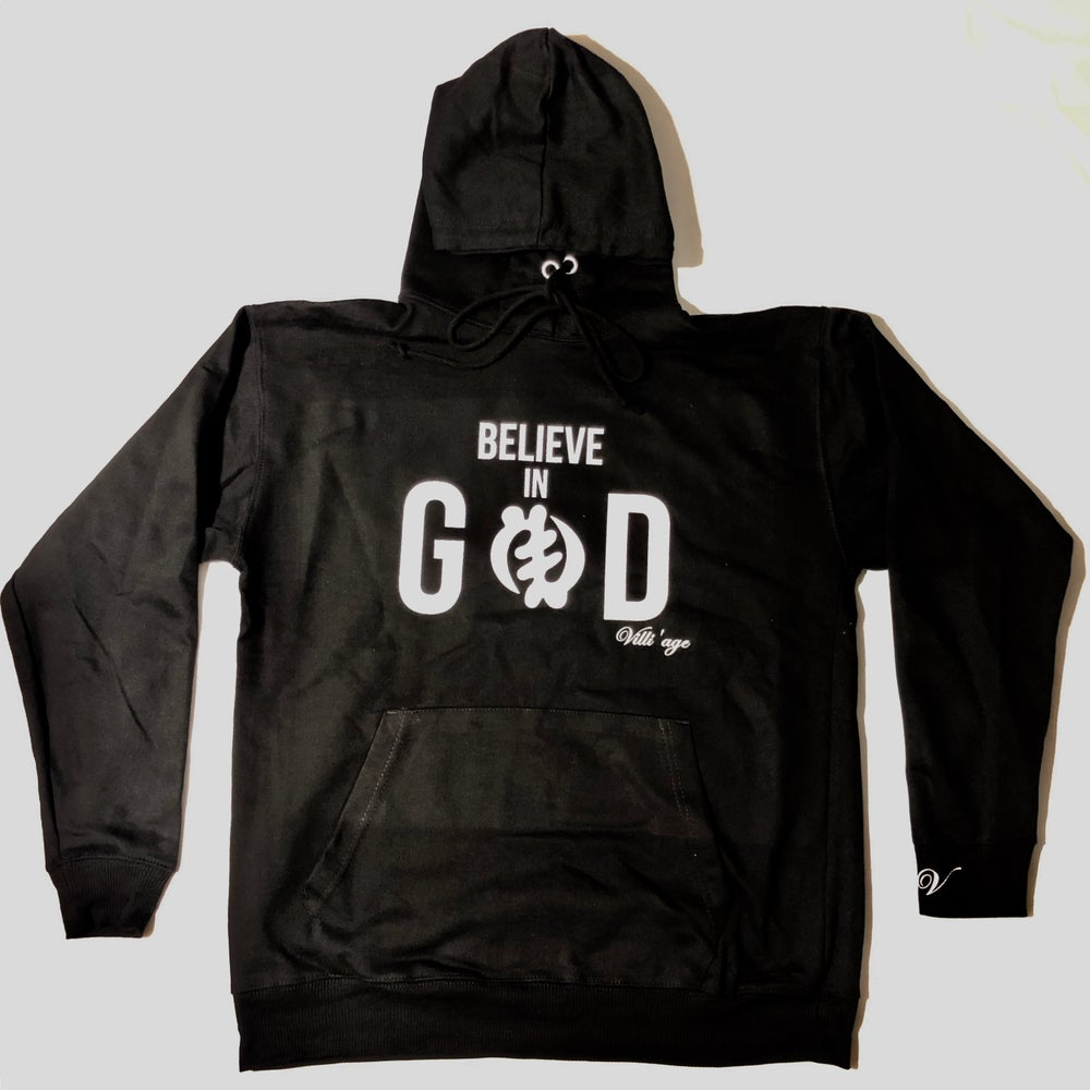 Image of Believe in God Villi'age Hoodie