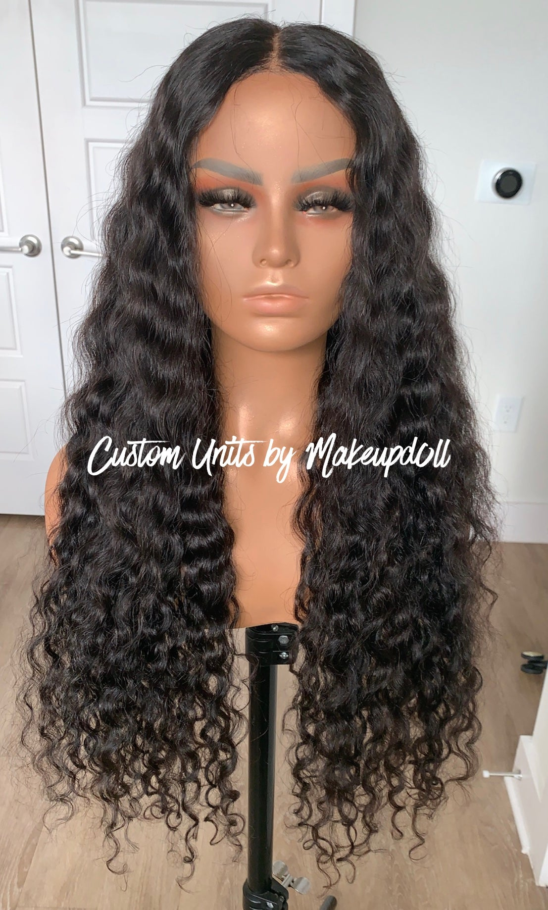 "Image of Cambodian Natural Wave 28"" Lace Closure Wig! (4 Bundles)"