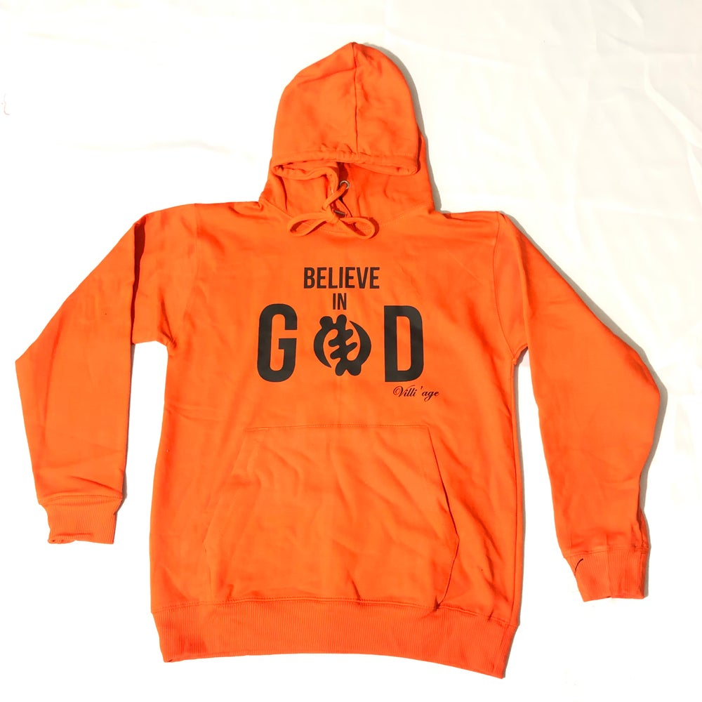 Image of Villi'age  Believe in God Hoodies