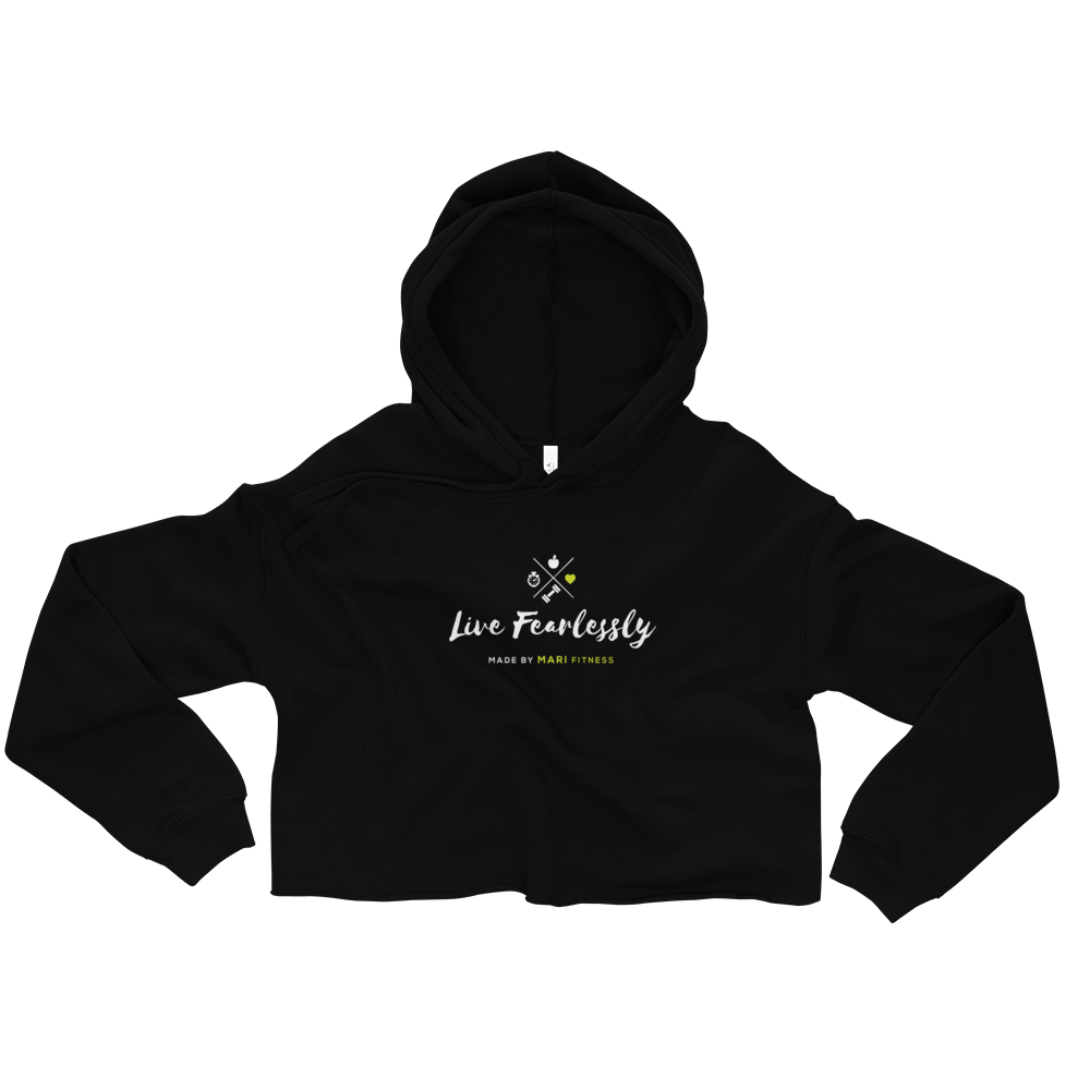 Image of Made By Mari Cropped Hoodie