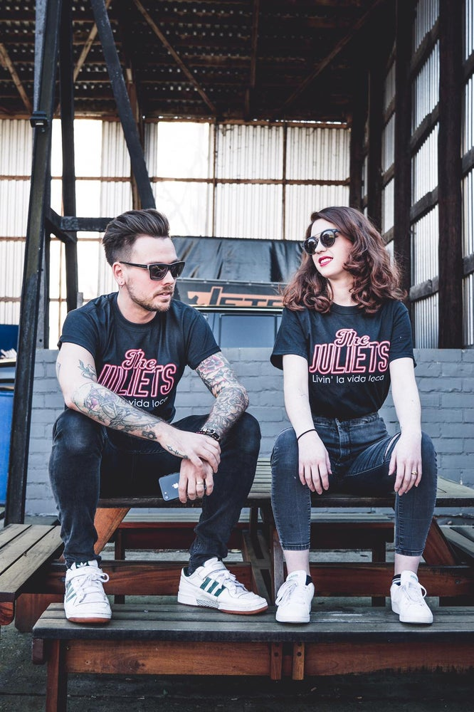 Image of The Juliets awesome band shirt unisex