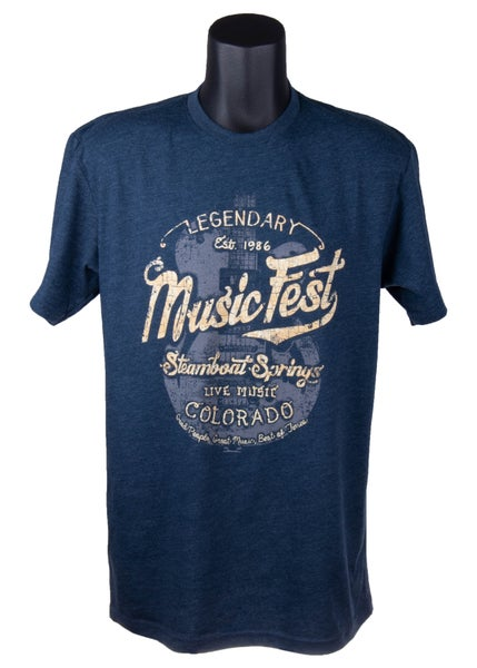 Image of Legendary Navy MusicFest Short Sleeve