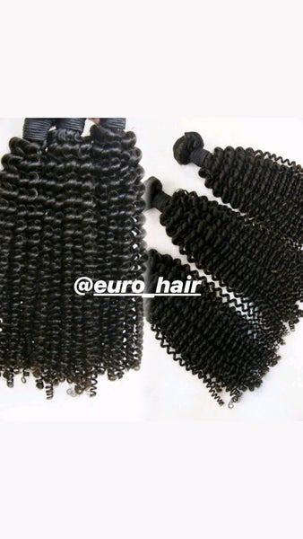 Image of KINKY CURLY 100% REMY HUMAN HAIR