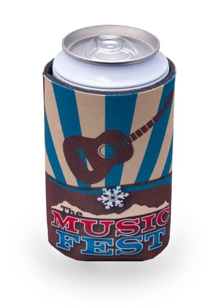 Image of MusicFest Logo Koozie design