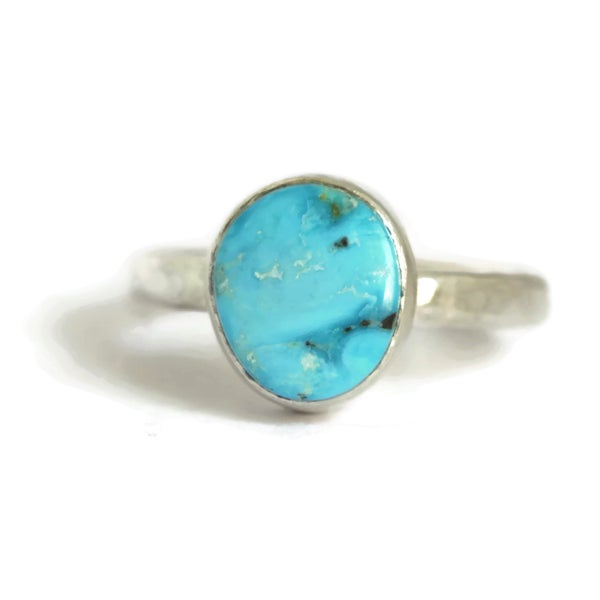 Image of Turquoise Silver Ring