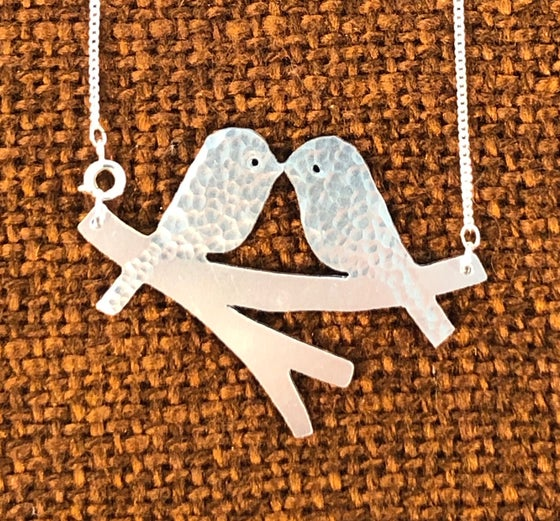 Image of Love Birds Necklace.