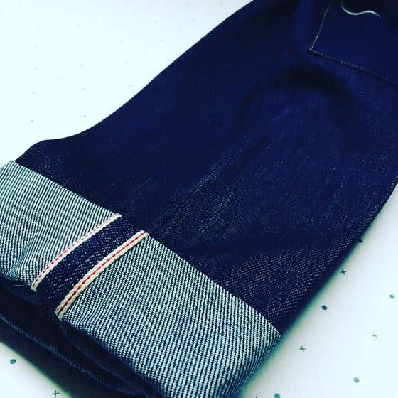 Image of DAD SELVEDGE JEANS