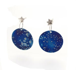 Image of {NEW}Stella Nova - Galaxy Drop Earrings