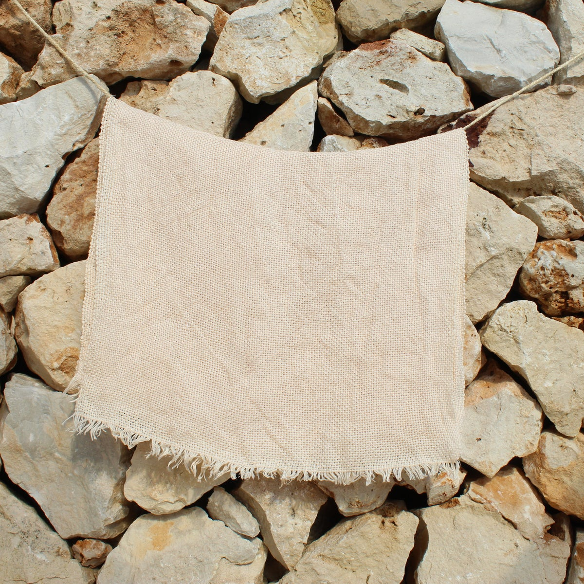 Image of 100% Linen scarf #03