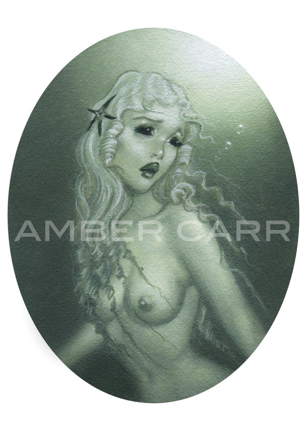 Image of Little Mermaid 2 mini print