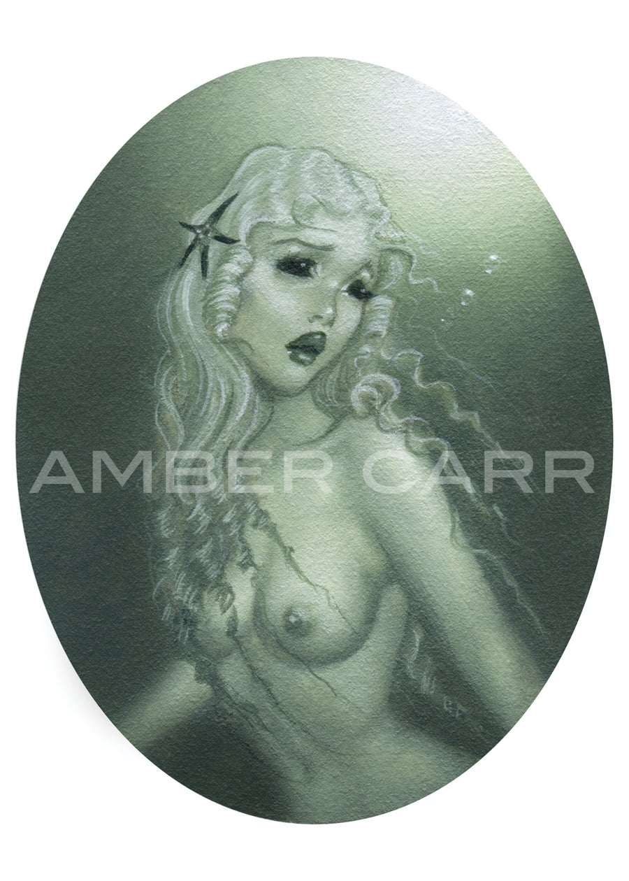 Image of Little Mermaid 2 mini print