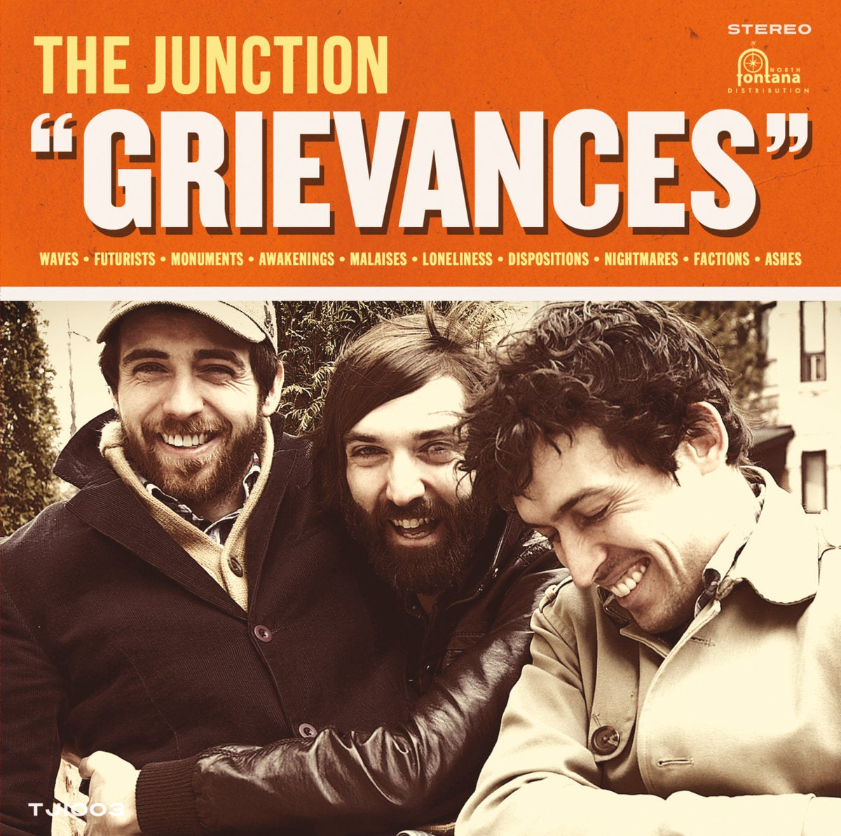 """Image of The Junction - """"Grievances"""" Vinyl"""