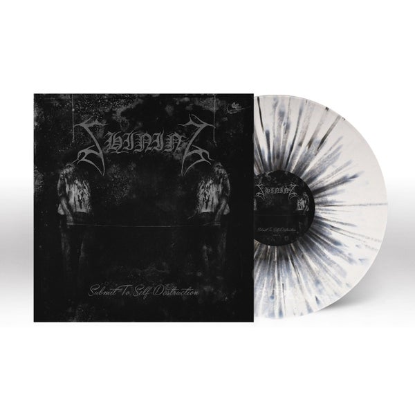 "Image of PRE-ORDER SHINING ""Submit To Self-Destruction"" 7"" (Splatter Vinyl)"