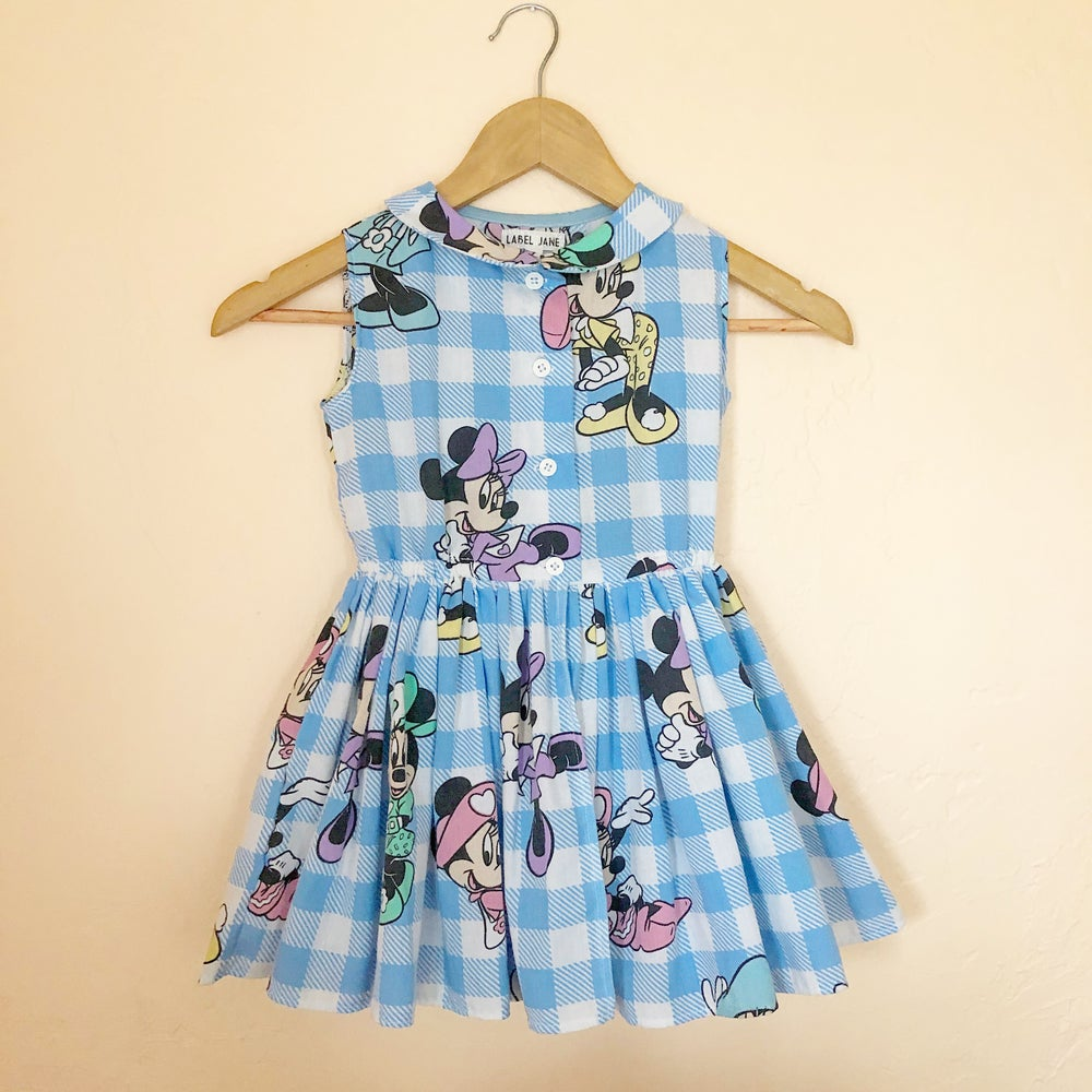 Image of Minnie Mouse Tennis or Picnic Dress