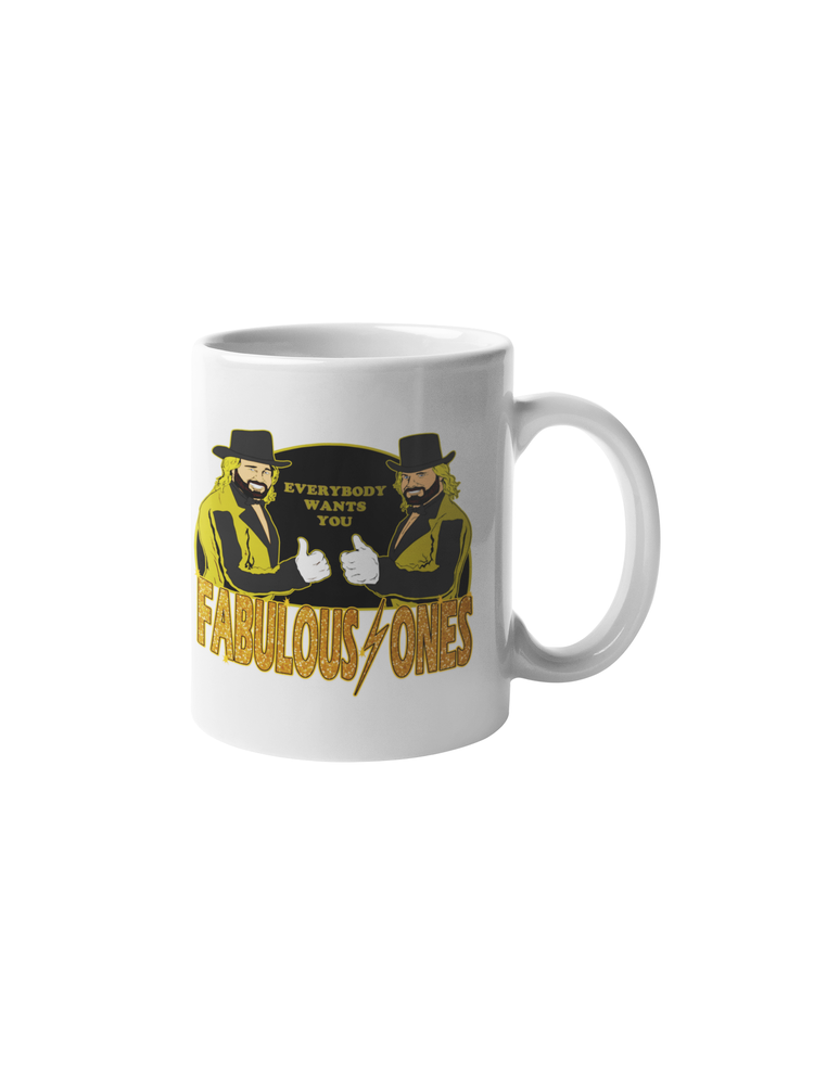 Image of The Fabulous Ones: Memphis Wrestling Merch Coffee Mug