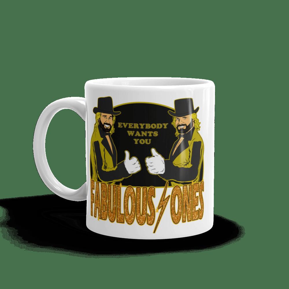 Image of The Fabulous Ones: Memphis Wrestling Merch Coffee Mug