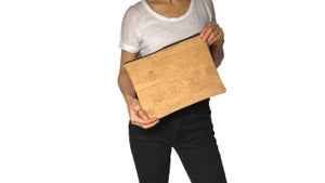 Image of Gloria Clutch In Natural Cork