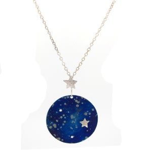 Image of {NEW}Stella Nova – Galaxy Pendant