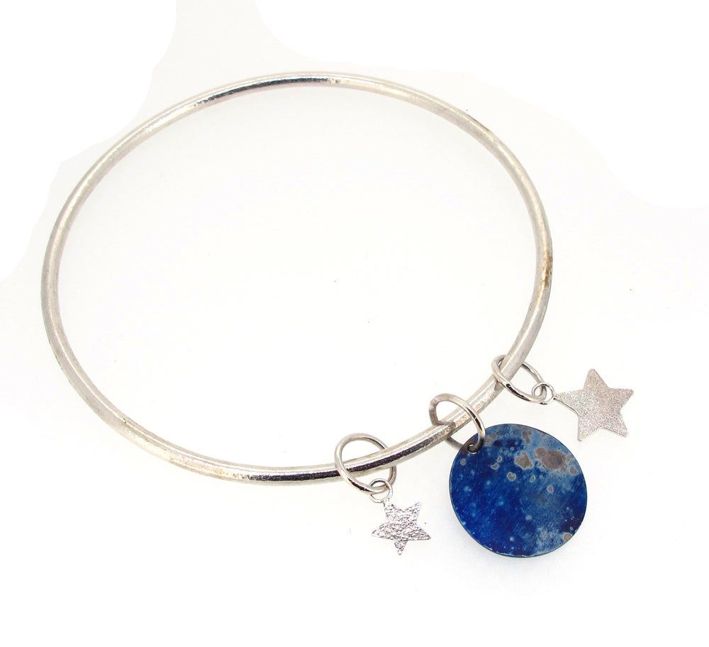Image of {NEW}Stella Nova – Galaxy Charm Bangle