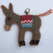 Image of donkey bag-tag craft kit