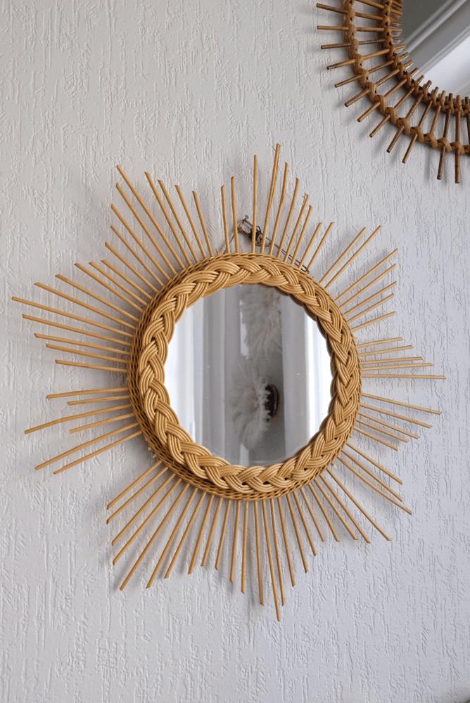 Image of Miroirs rotin