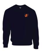 Image of King Tut's Drummer Logo sweatshirt (navy)